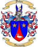 Dohse Family Coat of Arms from Germany