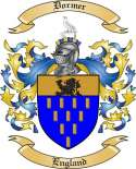 Dormer Family Coat of Arms from England