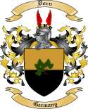 Dorn Family Coat of Arms from Germany2
