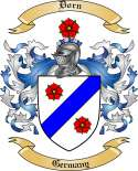 Dorn Family Coat of Arms from Germany