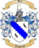 Dot Family Coat of Arms from England