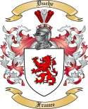 Duche Family Coat of Arms from France
