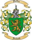 Duffee Family Coat of Arms from Ireland