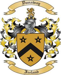 Dunaway Family Coat of Arms from Ireland