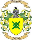 Eatherton Family Crest from England