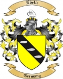 Ebelle Family Crest from Germany2