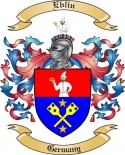 Eblin Family Crest from Germany
