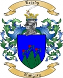 Ecsedy Family Crest from Hungary