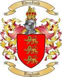 Edenfield Family Coat of Arms from England