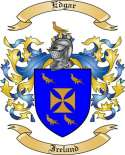 Edgar Family Coat of Arms from Ireland