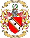 Edgcombe Family Crest from England