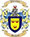 Edmeston Family Coat of Arms from Scotland