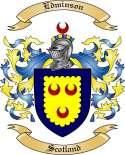 Edminson Family Crest from Scotland
