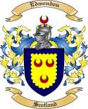 Edmondon Family Coat of Arms from Scotland