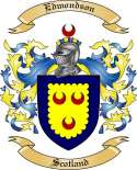 Edmondson Family Coat of Arms from Scotland
