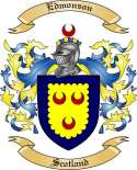 Edmonson Family Coat of Arms from Scotland