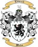 Edward Family Crest from Wales2