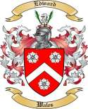 Edward Family Crest from Wales