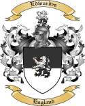 Edwardes Family Crest from England