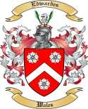 Edwardes Family Crest from Wales