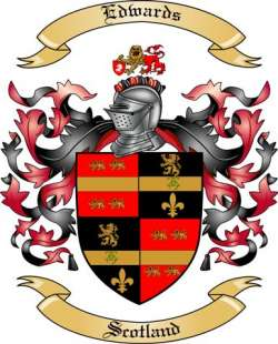 Edwards Family Coat of Arms from Scotland