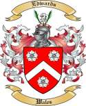 Edwards Family Crest from Wales