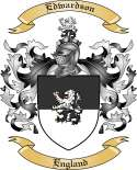 Edwardson Family Crest from England