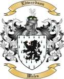 Edwardson Family Crest from Wales2