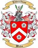 Edwardson Family Crest from Wales