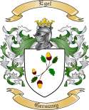 Egel Family Crest from Germany2