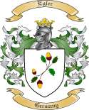 Egler Family Coat of Arms from Germany