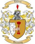 Ehlers Family Crest from Germany