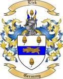 Eick Family Crest from Germany