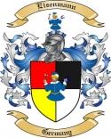 Eisenmann Family Crest from Germany