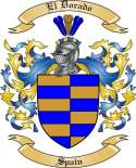 El Dorado Family Crest from Spain