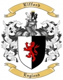 Elfford Family Coat of Arms from England