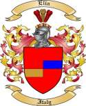 Elia Family Crest from Italy
