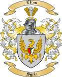 Elias Family Coat of Arms from Syria