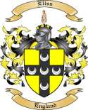 Eliss Family Crest from England