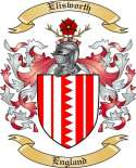 Elisworth Family Crest from England