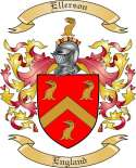 Ellerson Family Coat of Arms from England