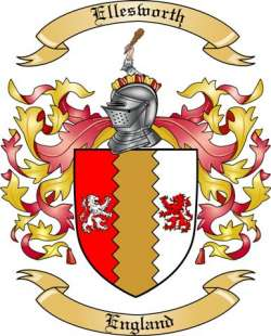 Ellesworth Family Coat of Arms from England2