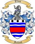 Ellett Family Crest from Ireland