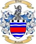 Ellett Family Coat of Arms from Ireland