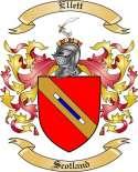 Ellett Family Coat of Arms from Scotland