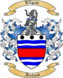 Ellgate Family Coat of Arms from Ireland