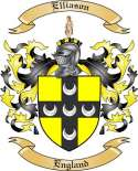 Elliason Family Crest from England