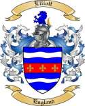 Elliott Family Coat of Arms from England