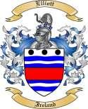 Elliott Family Crest from Ireland