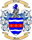 Elliott Family Crest from Wales
